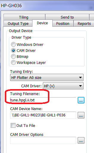 KB176884539: ArtiosCAD - HP printer Designjet 1300 does not