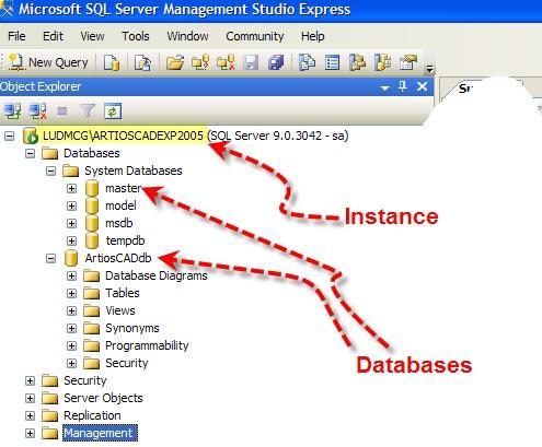 Kb73958900 Artioscad Sql Server Instances And Artioscad