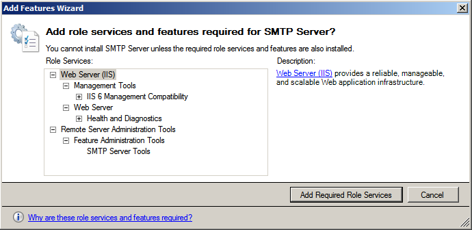 KB78618381: How to Configure IIS SMTP Server to forward