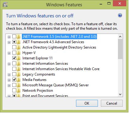 net framework 3.5 download for windows 8