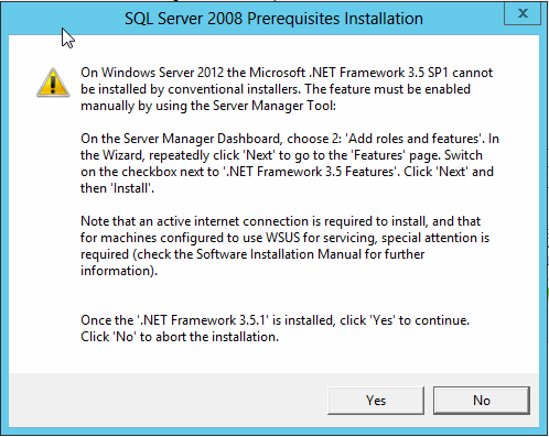 KB84839416: Automation Engine -  NET Framework 3 5 failed to