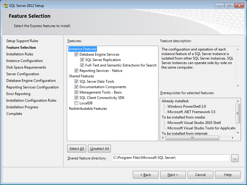 KB76721562: WebCenter - How to install and configure MS SQL